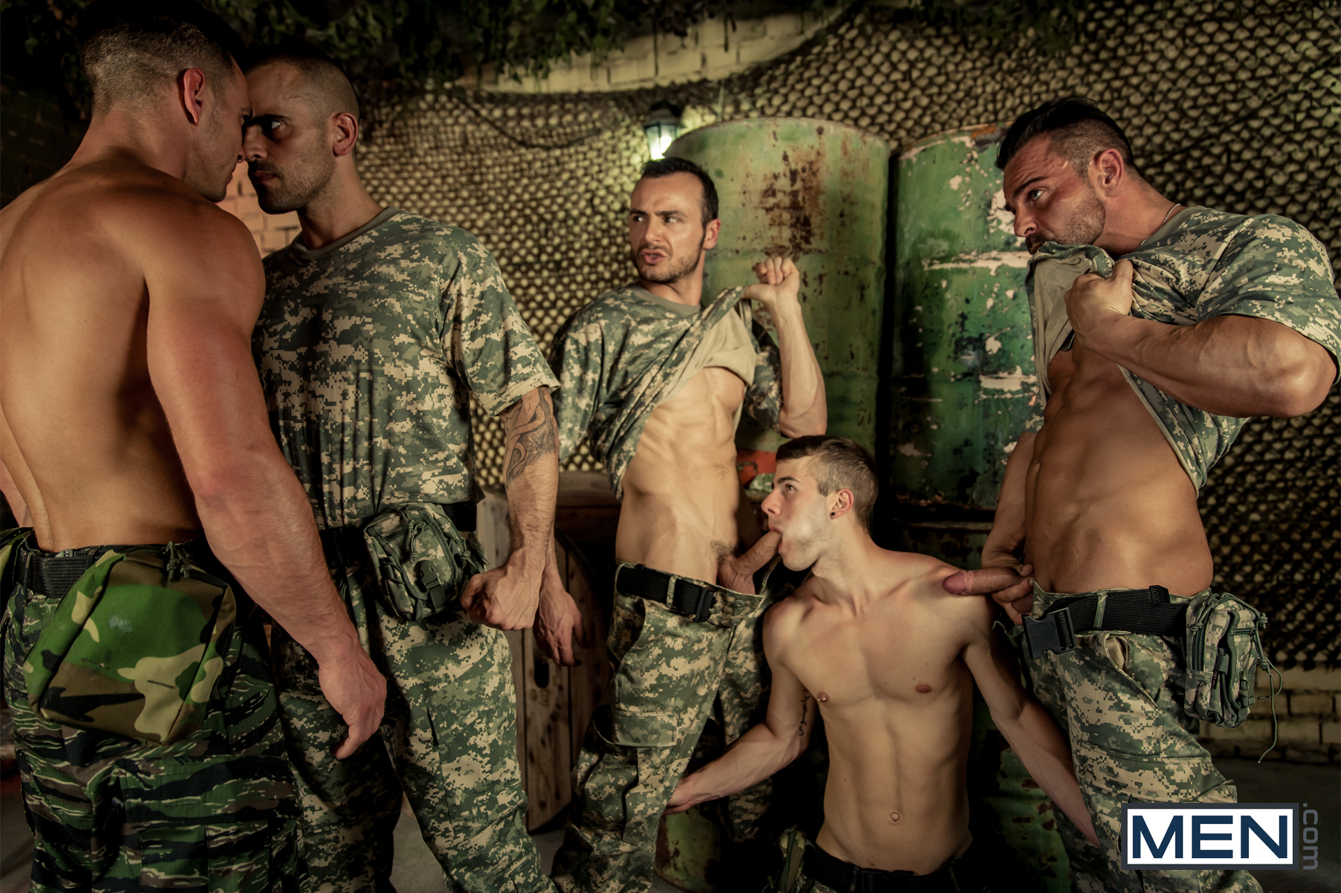 Men Army Porn